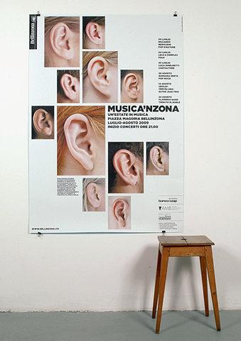 Musicanzona (New) : DEMIAN CONRAD DESIGN #sears #festival #concept #poster #music
