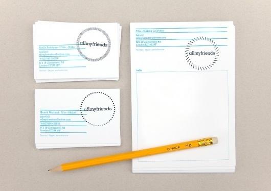 BERG Design for Print, Screen & the Environment #stamp #identity #minimal #branding