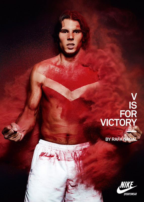 Nike Advertising V Is For Victory Sport Sold Our Book #training