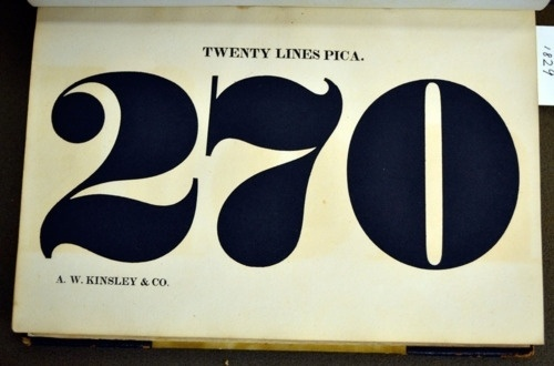 Daily Type Specimen | FIgures from a the 1929 specimen of the Kinsley... #font #specimen #type #typography