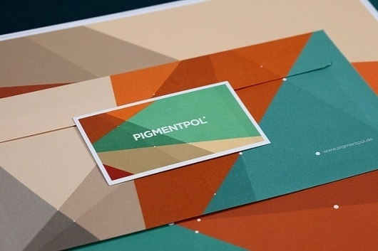 There is no Gon like a Hexagon - Brand New #hexagons #color #brand #pigmentpol #logo #colour