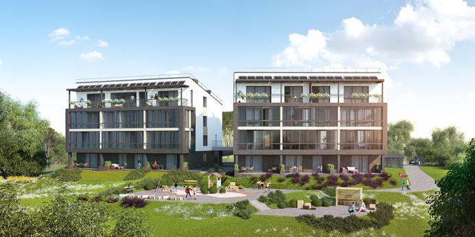 Apartment on the hill - dizonaurai #arch #viz