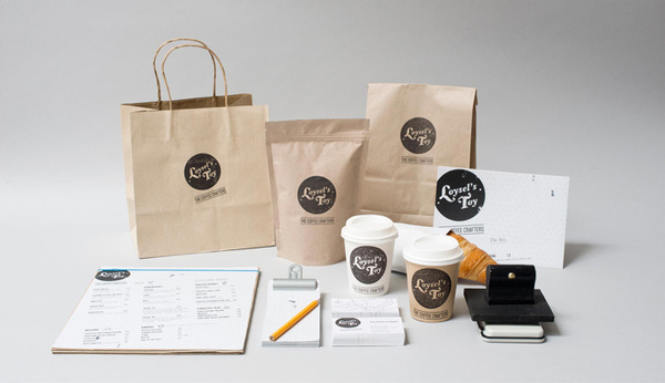 «Foreign Policy Design Group — Loysel's Toy» в потоке «Брендинг / Айдентика, Канцелярия, Упако #cafe #identity #package