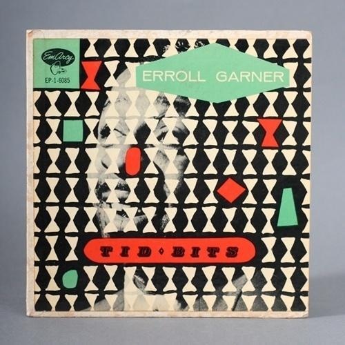 Javier Garcia » Erroll Garnier Tid Bits Record Cover by? #album #color #retro #record #vintage