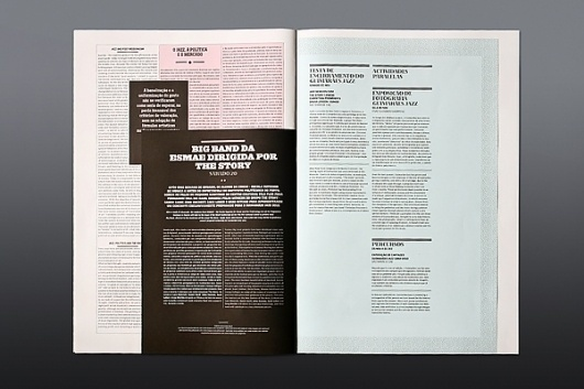 JAZZ JOURNAL 2010 on the Behance Network #martinojaa #design #atelier #magazine