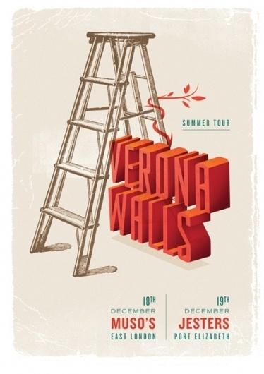Featured designer: Adam Hill #screenprint #poster