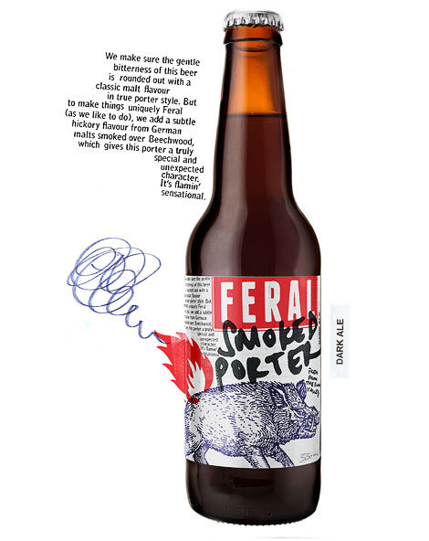 Feral Smoked Porter Bottle #campaign #beer