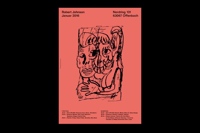 Studio Michael Satter • Robert Johnson Subway Posters 16