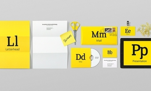 Easy speaking on the Behance Network #branding #school #yellow #black #letter #identity #language