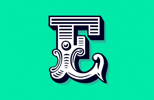 Frag.men.ta.tion on Behance #blankhiss #fragmentation #poster #type #typography