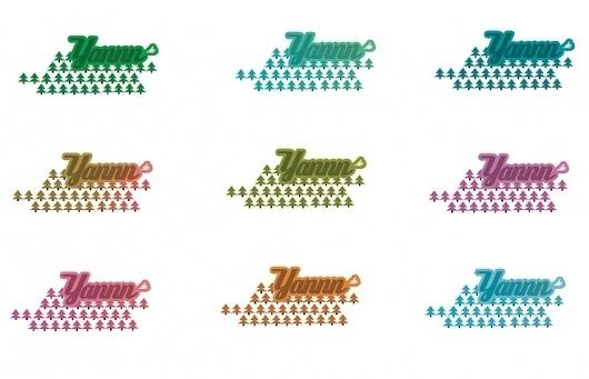 Yannn - Fashion - JPB STUDIO - Art & Creative Direction #young #fresh #design #colorfull #corporate #logo #yannn