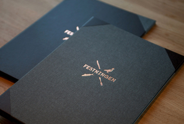 Festningen Visual Identity   Abduzeedo Design Inspiration #icon #book #logo #image #illustration #brand #symbol #type