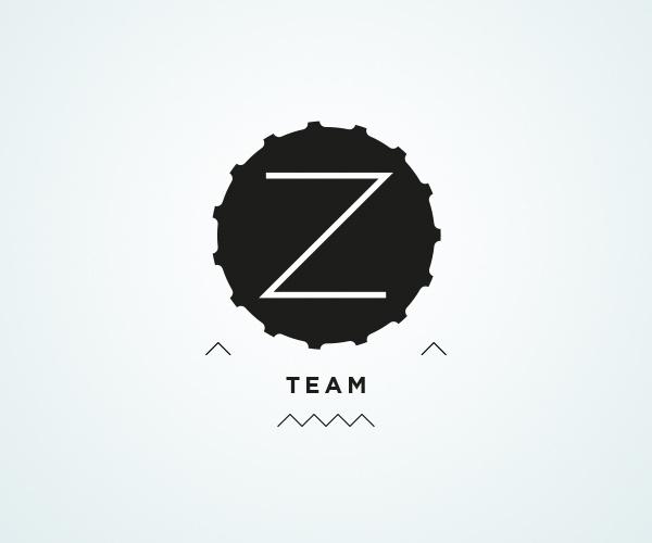 Z team / Logos on Behance / http://bit.ly/SrZQ0R #team #logo #diving #scuba #type