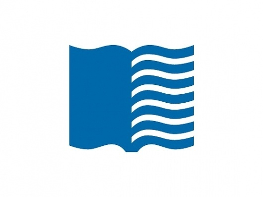 Library of Congress | Chermayeff & Geismar #mark #logo #flag #book