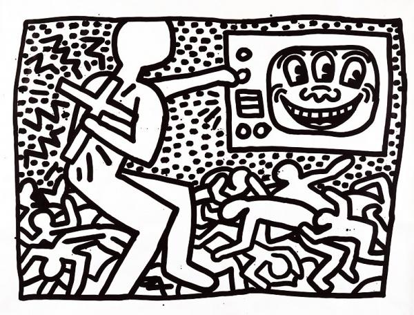06-Keith-Haring.jpg (802×610) #keith #haring