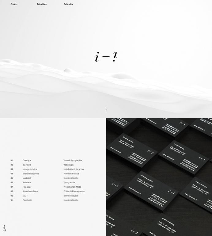 Twistudio french creative brand direction design designer agency website inspiration webdesign www.mindsparklemag.com Mindsparklemag