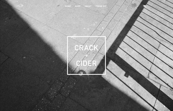 CRACK + CIDER, inspiration N°544 published on The Gallery in date December 3rd, 2015. #website