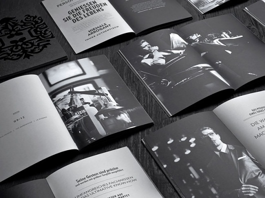 Hörst | Identity Designed #spread #magazine
