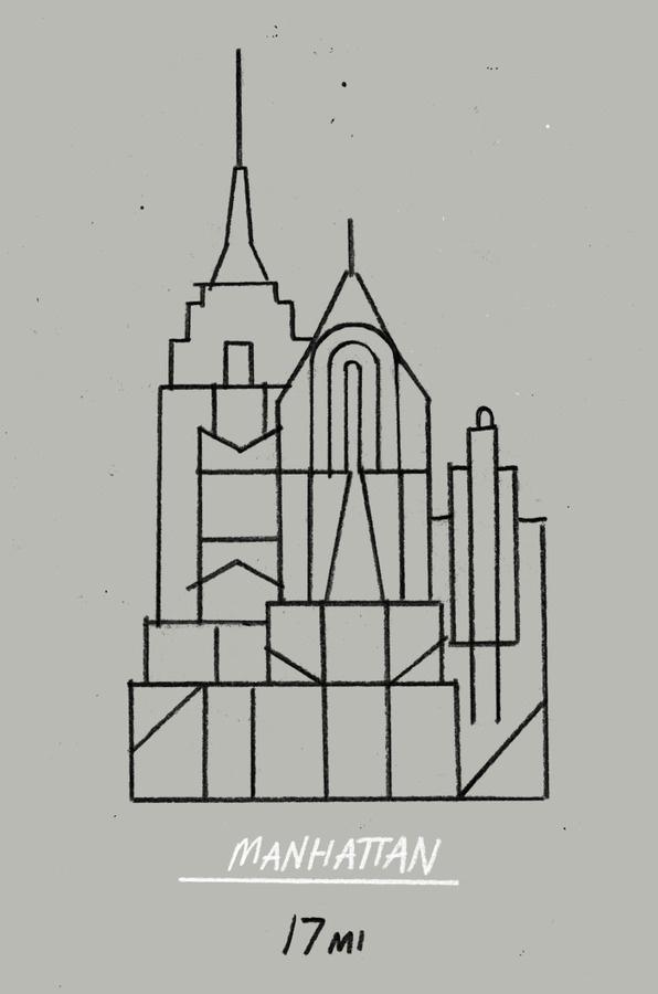 MM DD YYYY #line #architecture #manhattan #linear
