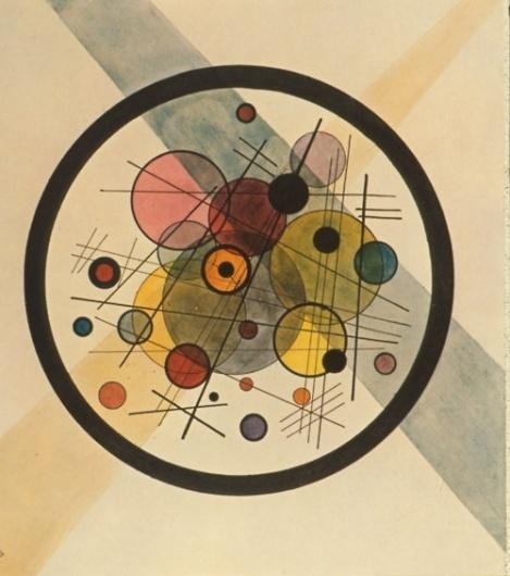 lost in vunderland - Black Circle Wassily Kandinsky, 1924 #design #circles #geometric