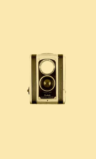 Kodak Duaflex Camera Art Print #old #camera #kodak #retro #vintage