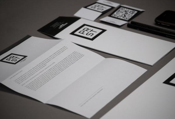 ProStudio Branding on Behance #stationary #card #letter #identity #glitch #envelope #personal #pencil #paper