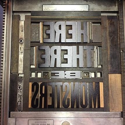 Letterpress Daily » wood type #letterpress #typography