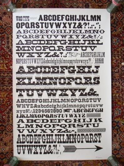 All sizes | GramLee wood type poster | Flickr - Photo Sharing! #type #sherman #nick #typography