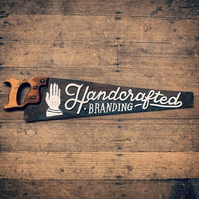 Handcrafted Branding by surfacetype #lettering