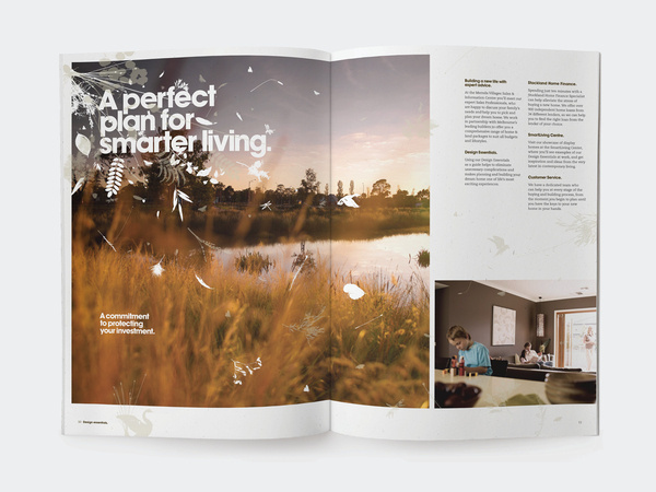 Mernda Village #stockland #flora #plants #design #fauna #exhibition #nature #wall #real #leaves #and #graphics #estate #brochure #typography