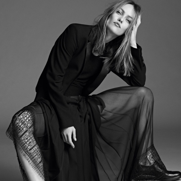 Fashion Photography: Vanessa Paradis by Karim Sadl #fashion #photography #inspiration