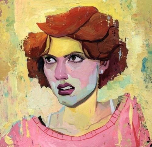 supersonic electronic / art - Rich Pellegrino. #painting #art