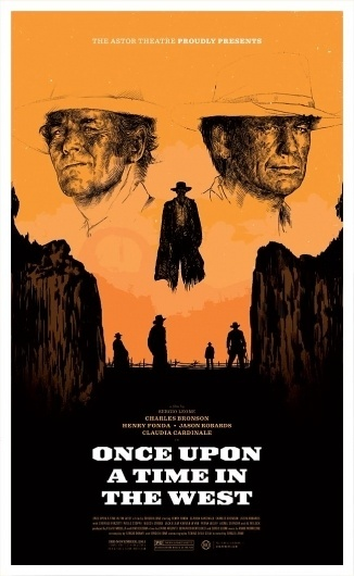 Once Upon a Time in the West - Oliver Barrett #illustration