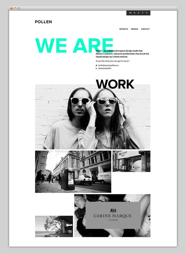Websites We Love #based #design #website #grid #studio #web