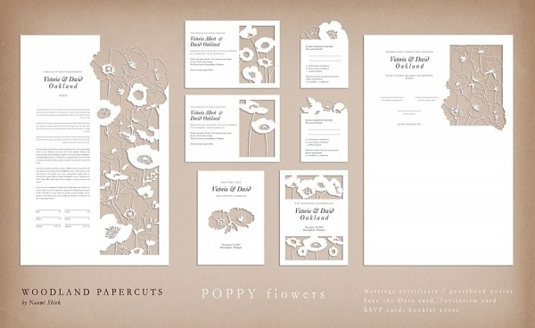 Graphic-ExchanGE - a selection of graphic projects #die #cut #flowers #letter #letterhead #paper #postcards