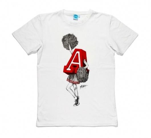 The McTypes   Tyrsa #analog #apparel #shirt #illustration #drawn #handmade #sketch #typography