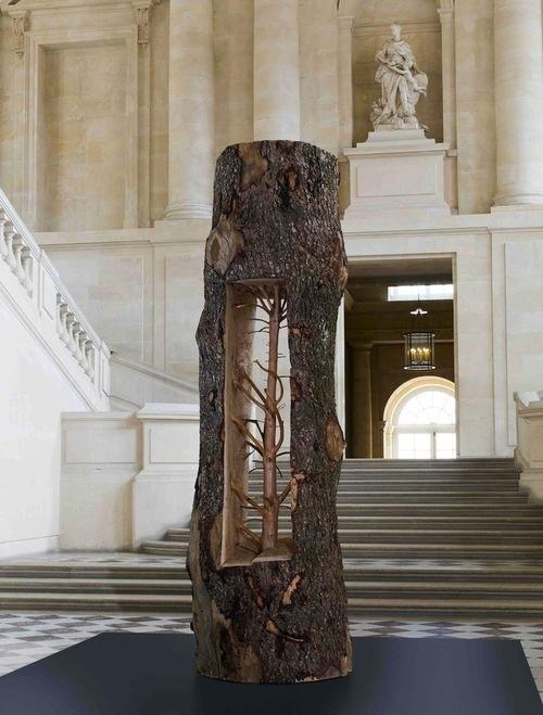 CJWHO ™ (Giuseppe Penone | Incredible New Tree Sculptures...) #penone #sculpture #tree #installation #design #wood #art #versailles #giuseppe