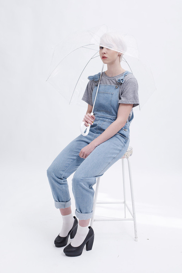 THE WHITEPEPPER Denim Dungarees #retail photography