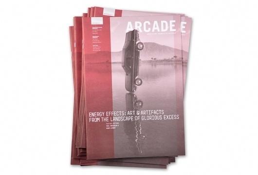 ARCADE 29.2 | Björn Soneson #arcade #red #print #design #soneson #cover #direction #art #magazine #bjorn