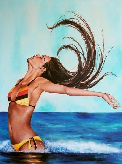 Free-HR.jpg (JPEG Image, 900x1206 pixels) - Scaled (90%) #acrylic #free #tara #painting #babando