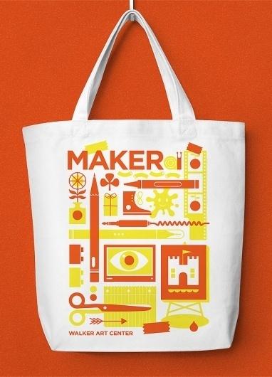 Eight Hour Day » Walker Art Center WAC Packs #illustration