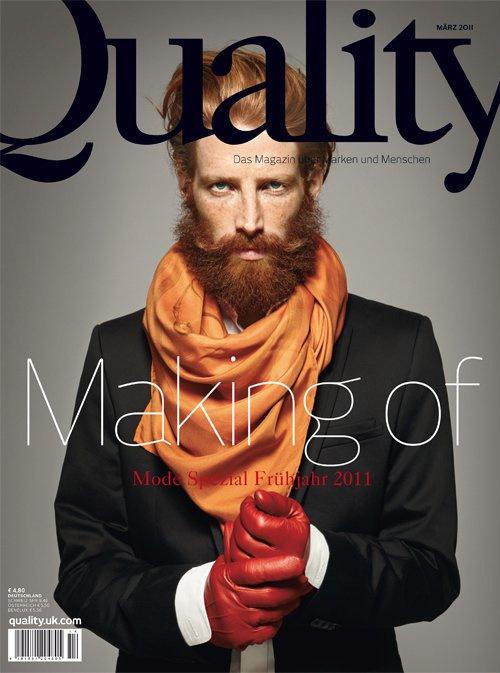 Johnny Harrington for Quality Magazine, March 2011 | Meets Obsession Magazine #cover #masthead #magazine