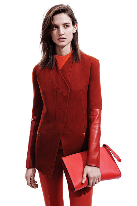 Narciso Rogriguez pre-fall 2014 Collection -http://fordmodels.tumblr.com/ #fashion
