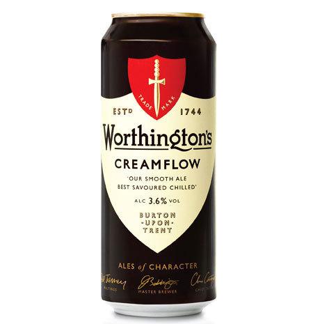 Worthington's #packaging #beer #design #can