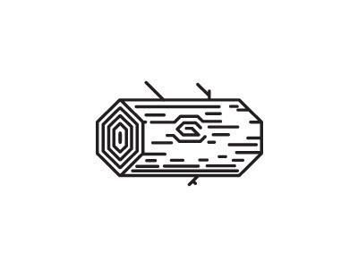 Log #icon #fuzzco #log #geometric