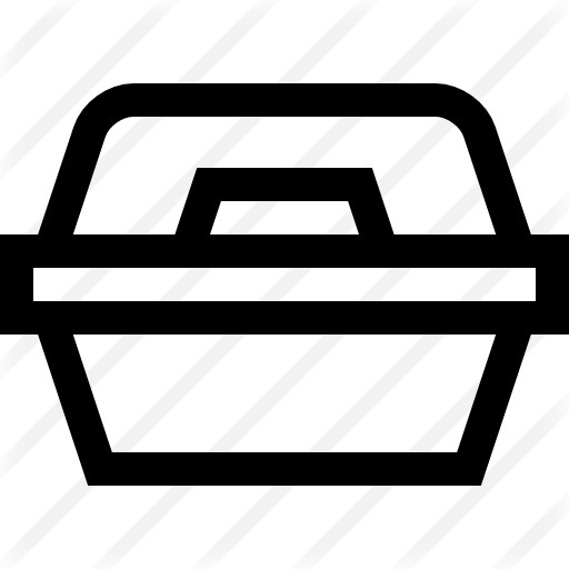 See more icon inspiration related to food container, food and restaurant, furniture and household, kitchenware, foam, container, box, tupper, tupperware, lunch, kitchen and food on Flaticon.
