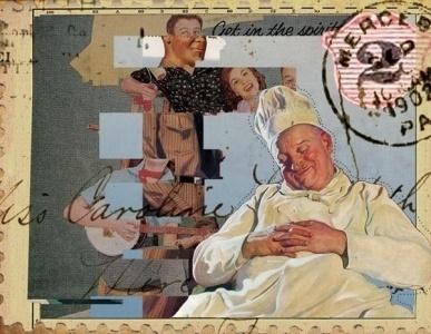the portfolio and artwork of kyle mosher | KyleMosher.com #baker #design #graphic #mixed #media #collage