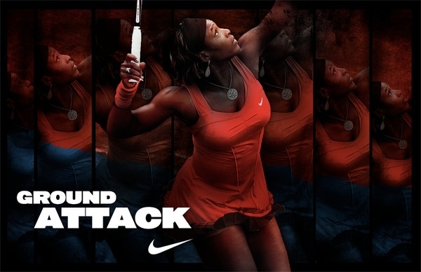 Nike French Open Justin LaFontaine #nike #serena #tennis #williams