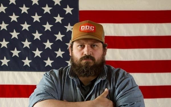 The Great Discontent: Aaron Draplin #old #designer #flag #aaron #american #glory #draplin #portrait