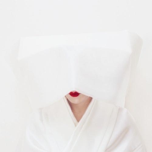 Kimiko Yoshida - SELF-PORTRAITS 2000-2002/01 The Shinto Bride. Self-portrait, 2002 #cm #mounted #on #acryl #art #and #x #aluminium #cprint #120